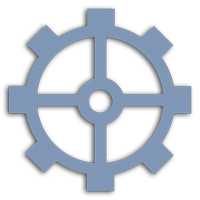Mühlrad Icon -Obere Mühle Wertach