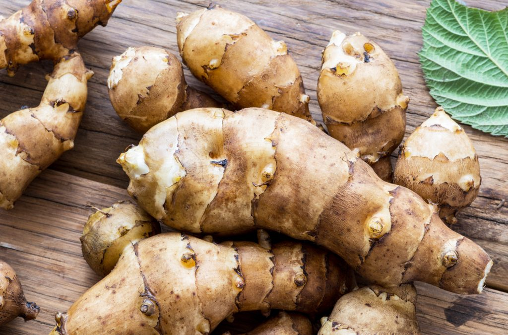 Gesunder Topinambur in der Gemüsekiste – und jetzt?