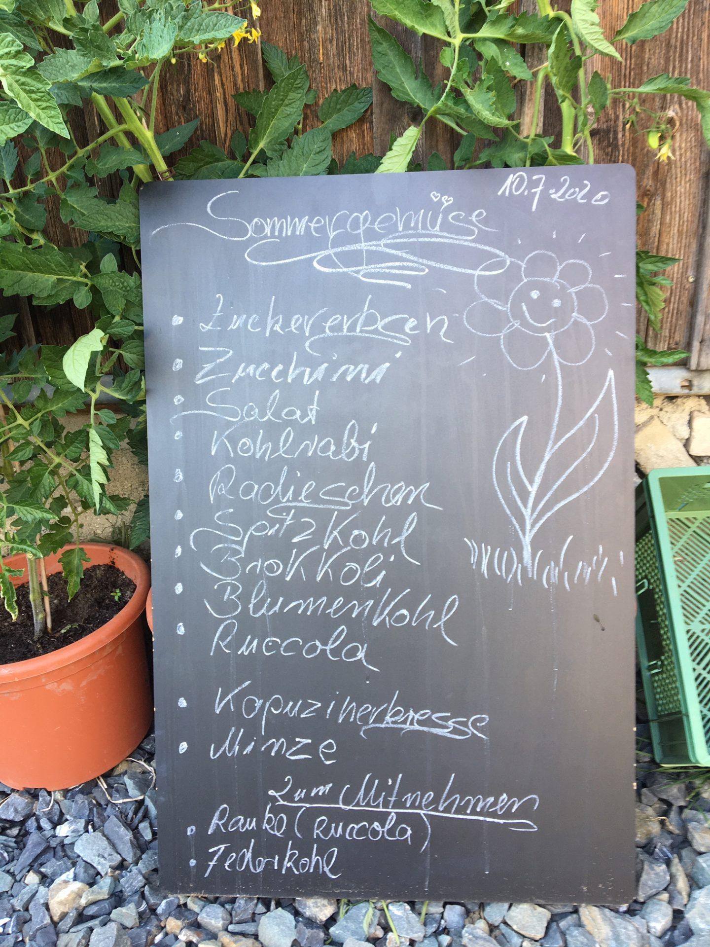 Bio-Gemüsekiste
